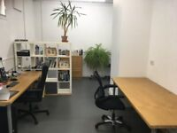 Desk space within shared office / studio to rent.