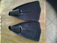 Swimmimg Flippers Size 8 - 10 Adult.