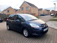 2008 CITROEN C4 PICASSO AUTOMATIC, MOT FULL 12 MONTHS, JUST SERVICED, HPI CLEAR