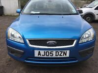 Ford Focus 1.6 tdci manual diesel blue breaking for parts / spares