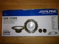 Alpine sxe_1750s component speakers