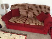 Sofa and chair in very good condition