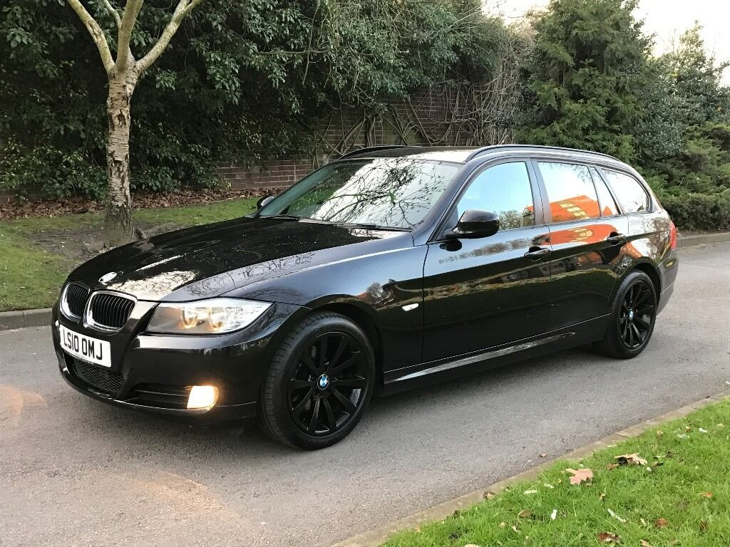 2010 bmw 3 series 2 0 320d se business edition touring 5dr estate diesel manual black sat nav. Black Bedroom Furniture Sets. Home Design Ideas