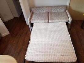Sofa bed nearly new . Accept reasonable offer