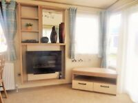 Sited static caravans for sale at Trecco Bay WINTER SALE! WAS £58,375 NOW £55,375
