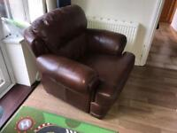 Leather arm chair FREE
