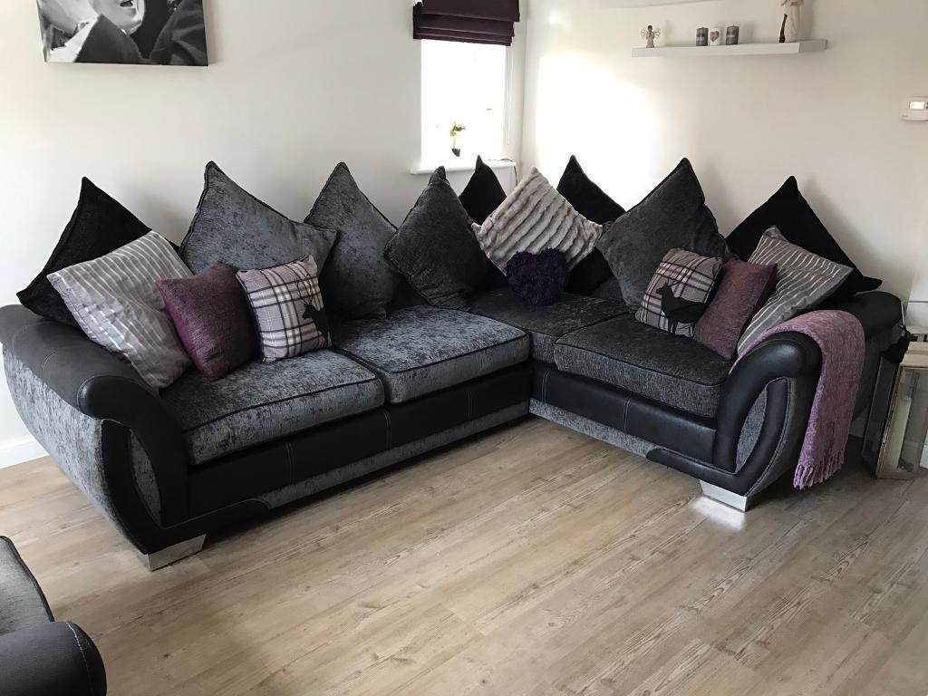 1 Year DFS Set Darcey Corner Sofa Arm Chair