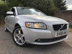 Volvo S40 SE 2L Diesel 2008 Full Service History Long Mot Same Owner From New Drives Great !