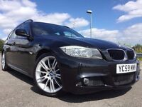 2009 BMW 320D M SPORT TOURING NEW SHAPE WITH FULL BMW HISTORY+SAT NAV