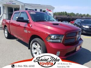 2014 Ram 1500 Sport with LEATHER $283.70 BIWEEKLY!!!