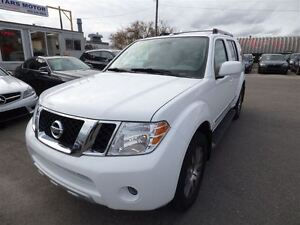 2012 Nissan Pathfinder LE & 7 SEATS & LEATHER & SUNROOF & BACK U