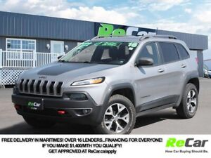 2016 Jeep Cherokee Trailhawk 4X4 | HEATED/COOLED LEATHER | SU...