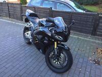 Black 2014 Honda CBR600RR - low mileage