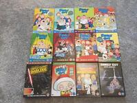 Family Guy DVD bundle £10.00