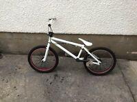 Haro BMX Bike, White, Good condition