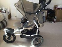 Mamas And Papas 03 Sport 3- Wheeled Pushchair - Almost Brand New