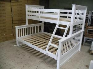 LORD SELKIRK FURNITURE - PALOMA T/D BUNK BED $429. *24 SLATS / BUNK - WHITE