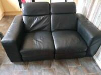 Vlack 2 seater recliner couch