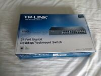 TP-Link TL-SG1024D 24 port Gigabit Network switch BRAND NEW and UNUSED, Can post UPS next wk day