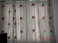 'Poppy' curtains from Dunelm
