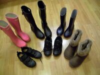 Car Boot Sale items - Winter Clothing and Footwear