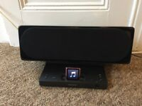 Sony speaker iphone ipod dock. Black. GU10iP