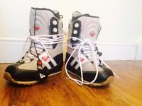 Ladies Quicksilver Snowboard boots size 5