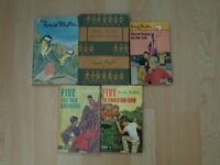 A collection of 6 children's books by Enid Blyton