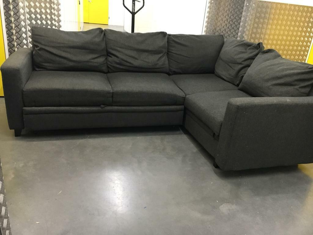 Grey L Shape Sofa Bed Storage Free Delivery