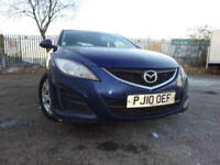 010 MAZDA 6 TS 2.2 DIESEL 163,MOT AUG 018,2 OWNERS FROM NEW,2 KEYS,PART HISTORY,STUNNING EXAMPLE