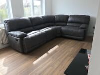 3 month old corner sofa