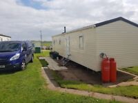 3 bedroom caravan for rent at sand le mere on the east coast mon to fri booking being taken now.