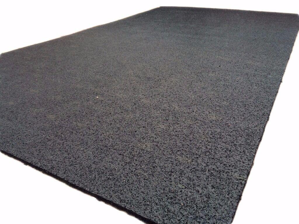 Rubber floor mats workshop - Rubber Flooring Gym Mat Or Workshop Shock Absorption Mat 4x10 Ft Feet