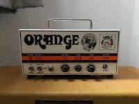 Orange Tiny Terror & Fender Hot Rod Deluxe Tweed Cab