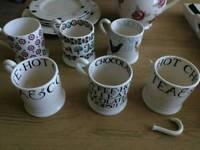 Emma Bridgewater 1/2 (half) pint mugs