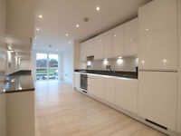 *FURN or UNFURN*Brand new 2 bed 2 bath flat with parking in new block by Park Royal & Hanger Lane