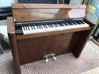 Rare Art Deco 1910 - 1920 Eavestaff Pianette - Genuine Antique - Good Condition
