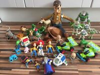 TOYS- Huge, Toy Story Bundle, Large Woody, bullseye, jessie, woodies, lots of Buzz & more! £50 ovno