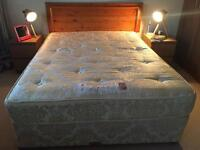 King size bed including headboard
