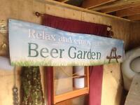 Pub banners large man cave garden outdoor £10 each
