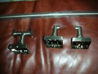 B and Q Eclipse towel Rail and Robe hook set