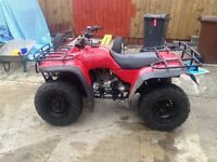 Honda quad big red
