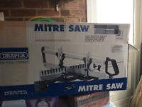 Mitre saw hardly used