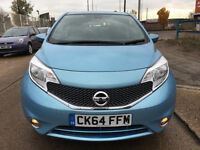 2014 NISSAN NOTE 1.2 NAVEGA SYSTEM 10,000 miles ,/nissan micra/vw golf/ford fiesta/mercedes a class
