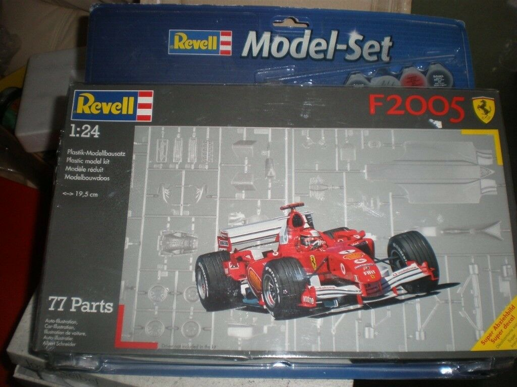 Airfix kit 1/24 Ferrari 2005 F1 car from Revell new & sealed