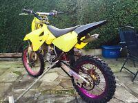 Suzuki rm 85 Kx sx yz rm Tm motorcross
