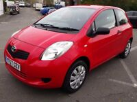 TOYOTA YARIS 1.0 T2 72K WITH FULL HISTORY IDEAL FIRST CAR