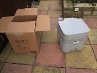 new in box,HOMCOM Mobile Camping Portable Travel Chemical Toilet Porta Potti