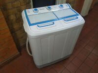 Superbrite Twin Tub washer spin dryer 7.2Kg (£160 new) excellent central London bargain