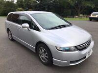 Beautiful Facelift 2007 Honda Odyssey 2.4 Vtec 7 Seater Automatic FULL MOT *LPG FITTED*